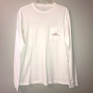 Vineyard Vines White Long Sleeve
